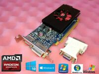 HP Compaq Elite SFF 8000 8100 8200 8300 1GB 128-Bit Low Profile Video Card + VGA