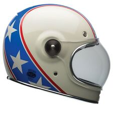Bell Bullitt Motorcycle Helmet - Chemical Candy Blue / White - ALL SIZES