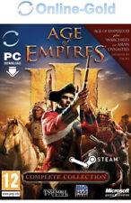 Age of Empires III - Complete Collection - Steam Código PC Clave del juego ES/EU