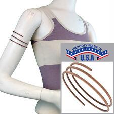 USA Made In Bracelet Upper Arm Copper Ox Tone Metal Band Cuff