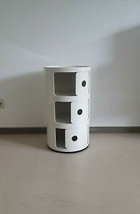 Anna castelli Kartell Kabinett 1 Container Componibili 4965-6-7