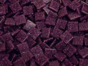 Dark Purple 1cm Venetian Glass Mosaic Tiles - Art Craft Supplies