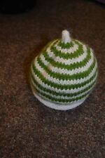 Handmade Striped Baby Caps & Hats