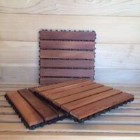 Cedar Flooring Tile. Use for saunas, bathrooms, etc. 10 Pieces