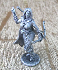 Tin Figurine 54 mm Top Quality Miniature Model Amazon with bow and arrow
