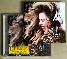 KELLY CLARKSON * MEANING OF LIFE * 14 TRK CD w/ EXCLUSIVE SIGNED BOOKLET * BN!