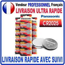 Pile CR2025 Lithium 3V PANASONIC Pile bouton  QUALITÉ PREMIUM