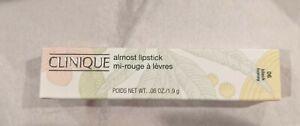 Clinique Almost Lipstick in Black Honey - Full Size - NIB