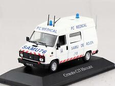 Citroen C25 Heuliez Krankenwagen Ambulanz Rotes Kreuz 1:43 Atlas Modellauto 13