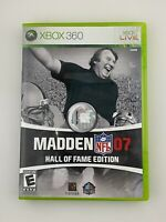 Madden NFL 07 Hall of Fame Edition - Xbox 360 Game - Complete & Tested