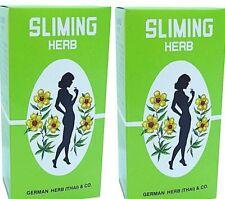 100 SACS HERBES GERMAN SLIMING TEA régime réduction de perte de poids