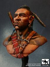 Blackdog Models 1/10 HURON WARRIOR Resin Figure Bust