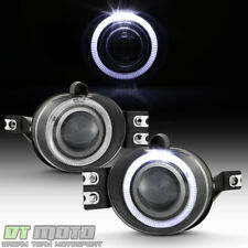 2002-2008 Dodge Ram 1500 LED Halo Projector Fog Lights Lamps w/Switch Left+Right