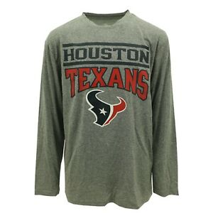 Houston Texans Youth Size Athletic Long Sleeve Shirt NFL Team Apparel New Tags