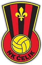 "NK Celik Zenica FC Bosnia Football Soccer Car Bumper Sticker Decal 3.5""X5"""