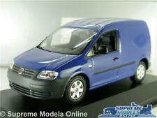 VOLKSWAGEN CADDY MODEL VAN BLUE VW 1:43 SCALE MINICHAMPS DEALER SPECIAL K8