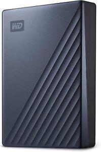 *NEW* WD 5TB My Passport Ultra USB-C USB 3.1 Portable External Hard Drive - Blue