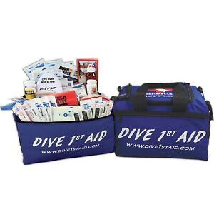 Dive 1st First Aid Kit Instuctor Scuba Diving Soft Case FAK439
