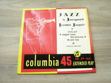 jazz7 45swing60s *RARE UK ONLY EP* ILLINOIS JACQUET * HEAR * Jazz By CECIL PAYNE