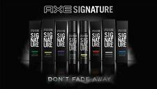 8 Flavors Axe Signature Men Body Perfume Spray Sensual Fragrance 122ml Each
