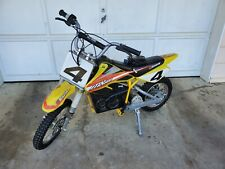 Used Yellow Razor Mx650 Dirt Rocket Electric Motocross Bike (Local Pick-up Only)