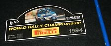 adesivo sticker   WORLD RALLY 1994 SUBARU Very good