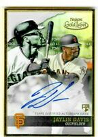Jaylin Davis 2020 Topps Gold Label Framed AUTO Rookie RC SF Giants