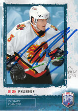 DION PHANEUF FLAMES AUTOGRAPH AUTO 06-07 BE A PLAYER BAP #64 *27197