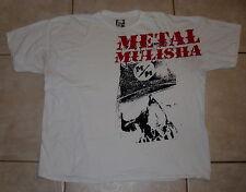 METAL MULISHA T Shirt (2XL / 3XL) Extra Large White Mens mma ufc motocross
