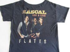Rascal Flatts T-Shirt Large/Xl 2013 Live & Loud World Tour Trashed Cut-Off Top