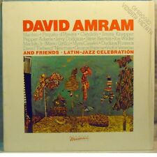 DAVID AMRAM and FRIENDS - LATIN JAZZ CELEBRATION - LP Unplayed