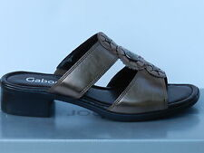 Gabor Quattro Chaussures Femme 38 Sandales Nu-pieds Mules Clogs Sabots UK5 Neuf