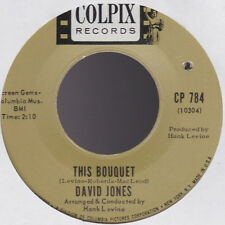 David Jones from the Monkees This Bouquet / What Are We Going To Do? USA 45 C/O