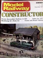 Model Railway Constructor December 1977 - North Devonshire Railway in OO - Tr.20