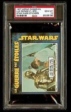 LUKE REPAIRS 1977 Star Wars ADPAC General Mills Cereal Sticker PSA 10 CANADIAN