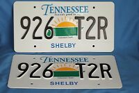 The Blind Side Tennessee License Plates Movie Props