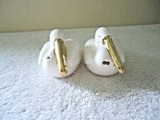 "Vintage Set Of Pelican Salt & Pepper Shakers "" Beautiful Collectible Set """