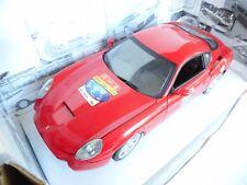 Ferrari 575 GTZ Zagato 2006 rot, Modellauto 1:18 / Mattel - Hot Wheels M BOX