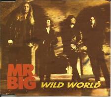 Eric martin MR. BIG Wild World 3TRX w/UNRELEASED TRK CD single SEALED USA Seller
