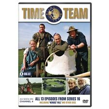 Time Team : Series 16 (4 Discs) - Tony Robinson - New DVD
