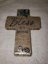 Carson Blessed Wooden Framed Message Bar Home Decor