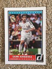 +++ Sami KHEDIRA 2015 Donruss a prova di stampa # avrebbe CALCIO CARD #4 - REAL MADRID +++