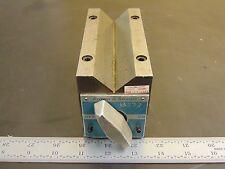 "Brown & Sharpe Magnetic V-block 750D 5-1/4"" L x 2-1/2"" W x 3-3/16"" H FN46"