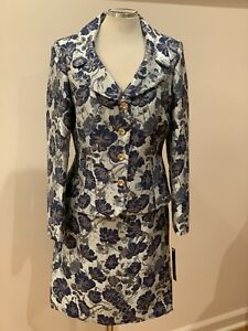 TAHARI BY ARTHUR LEVINE  SKIRT  SUIT/SIZE 16/RETAIL$280/NEW WITH TAG/JAQUARD