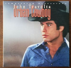 LASERDISC Movie: URBAN COWBOY - John Travolta, Debra Winger - Collectible