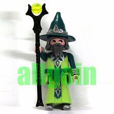 PLAYMOBIL FIGURES FI?URES SERIES 4 #5284 v4 Mago Saggio Wizard Sage