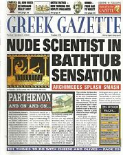 Greek Gazette by Paul Dowswell & Fergus Fleming pb Newspaper History