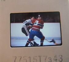J C TREMBLAY Montreal Canadiens CLIFF KOROLL CHICAGO BLACK HAWKS SLIDE 3