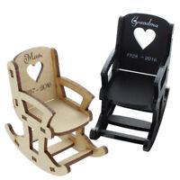 In Loving Memory Rocking Chair Personalised Wedding Seat Memorial Name Gifts