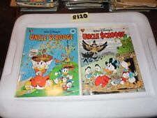 Gladstone Giants Lot Disney #14 Uncle Scrooge #19 Uncle Scrooget